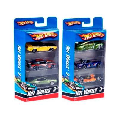 Hot Wheels x 3