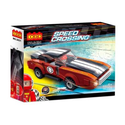 Bloques Cogo Speed Crossing 157 Piezas